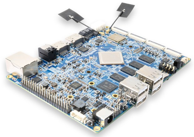 Orange Pi launched its First SBC based on Rockchip's hexa-core