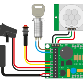 Build a Simple Presence Alarm system with email