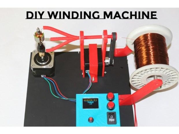 DIY an Arduino-Powered Motor Winding Machine | Open Electronics