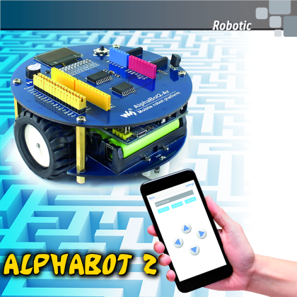Alphabot2: the OpenSource Robot | Open Electronics