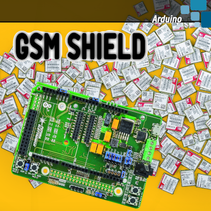 UNIVERSAL GSM SHIELD - The GSM library for Arduino