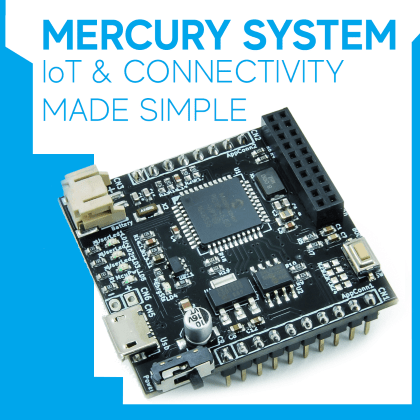 Mercury System IoT & Connectivity Made Simple: the Framework | Open