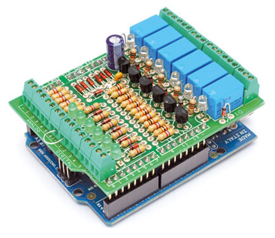 Relay Shield for Arduino | Open Electronics