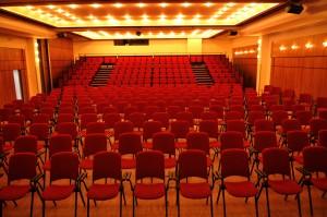 grande salle spectacle vide