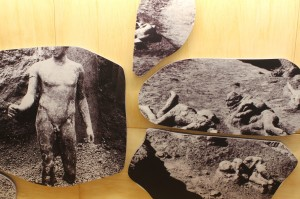 From the current exhibition 'Pompei e L'Europa 1748-1943' (Pompeii Amphitheatre)