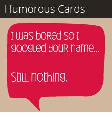 Humorous Cards