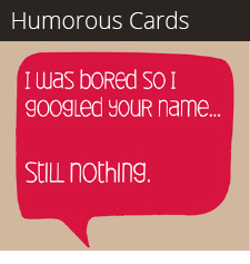 Humorous Cards