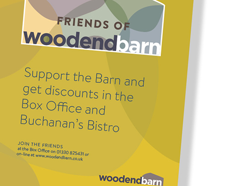 Friends of Woodend Barn Leaflet and Poster