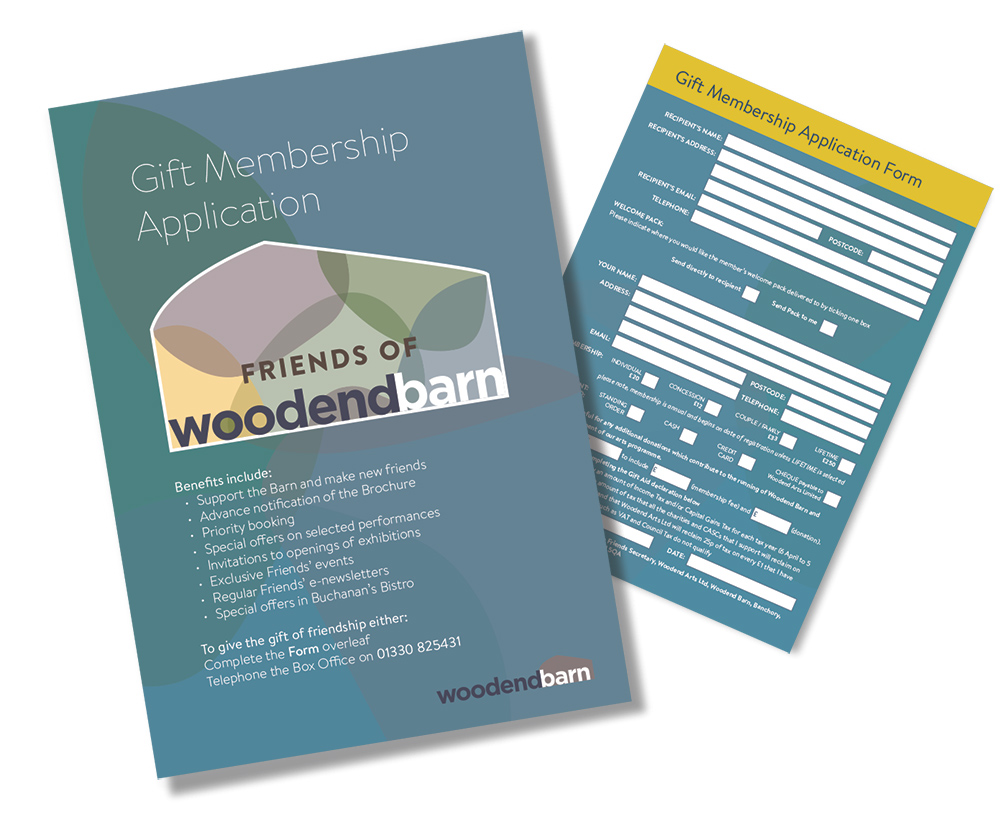 Gift Application leaflet