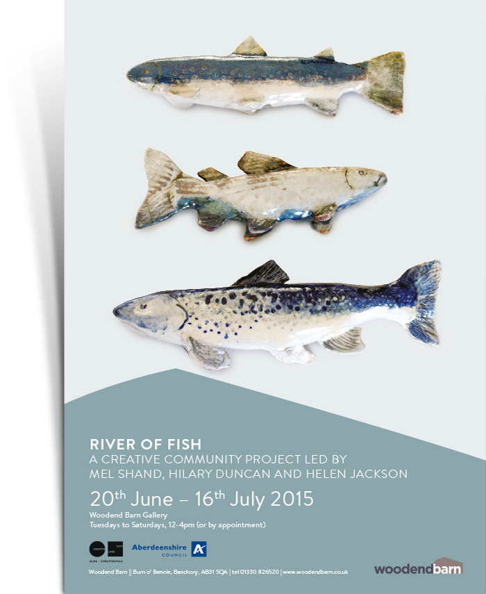 River of Fish Poster
