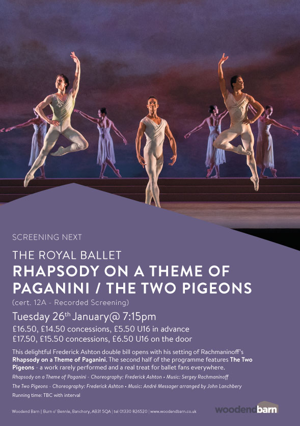 Rhapsody on a Theme of Paganini / The Two Pigeons