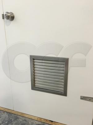 Thru Door Ventilation For Fiberglass Equipment Shelters