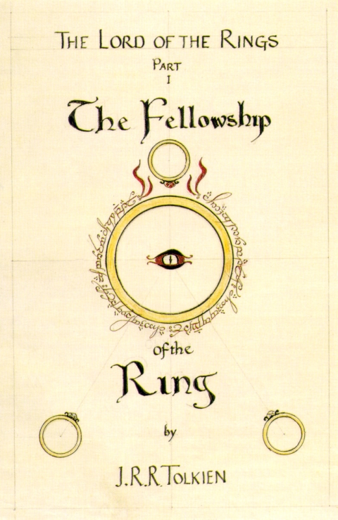 Image result for lord of the rings book cover