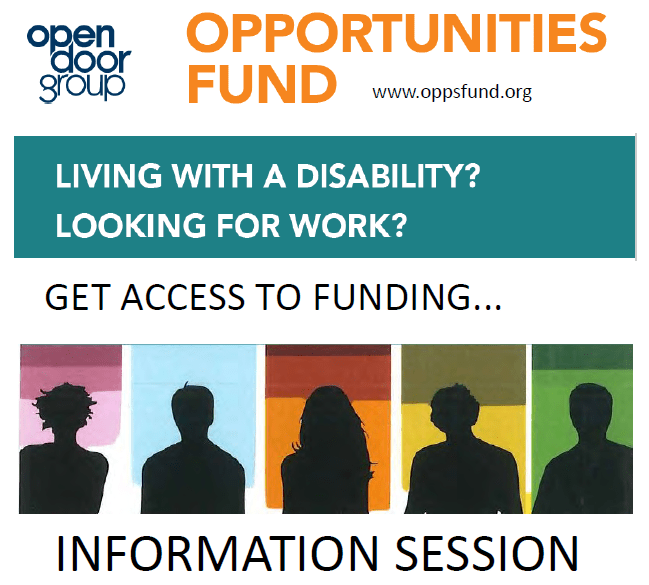 Opportunities Fund – Upcoming Events