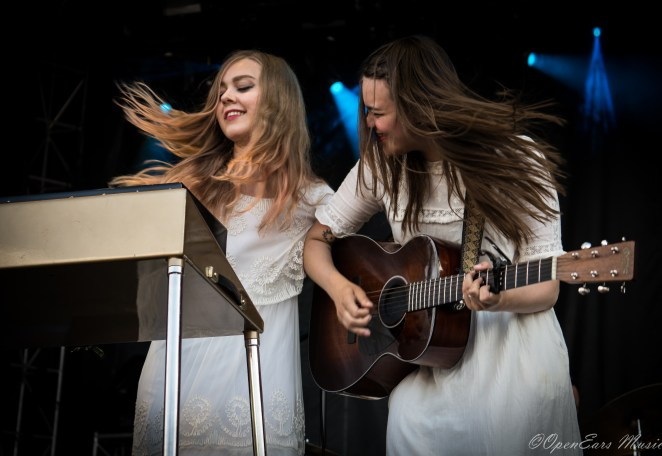 First Aid Kit at Sloss Fest. Photo By Jamie Platus.