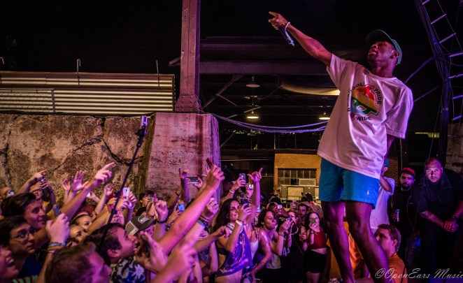 Tyler the Creator at Sloss Fest. Photo By Jamie Platus