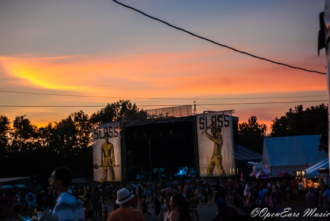Sloss Fest sunsets. Photo By Mike Gerry