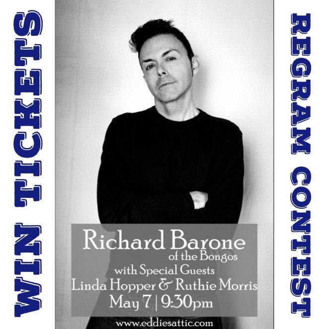 Win a pair of tickets to see Richard Barone at Eddie's Attic