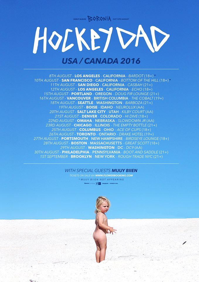 Hockey Dad Tour Dates