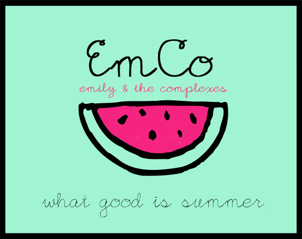 "Emily & The Complexes ""What Good Is Summer"" artwork"