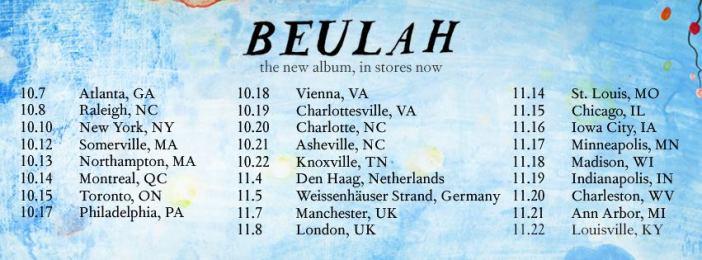 John Paul White Tour dates
