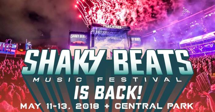 Shaky Beats Announces new site and new weekend for the 2018 Festival