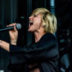 Phantogram at Sloss Fest 2017 in Birmingham, Alabama