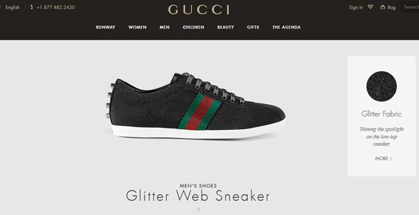 gucci business model price elasticity scalable