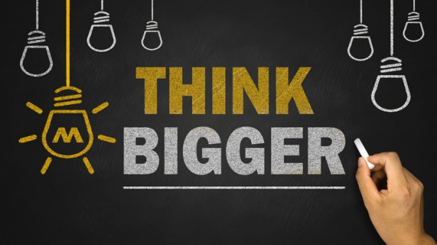 think big business motivational quotes