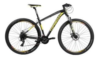 Bicicleta Mountain Bike TopMega Thor R29 Aluminio 24 Cambios Negra Amarilla