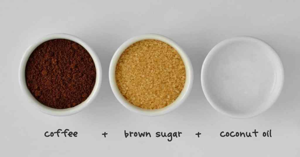 Coffee-Scrub-Ingredients-Homemade-Christmas-Gift-Ideas-