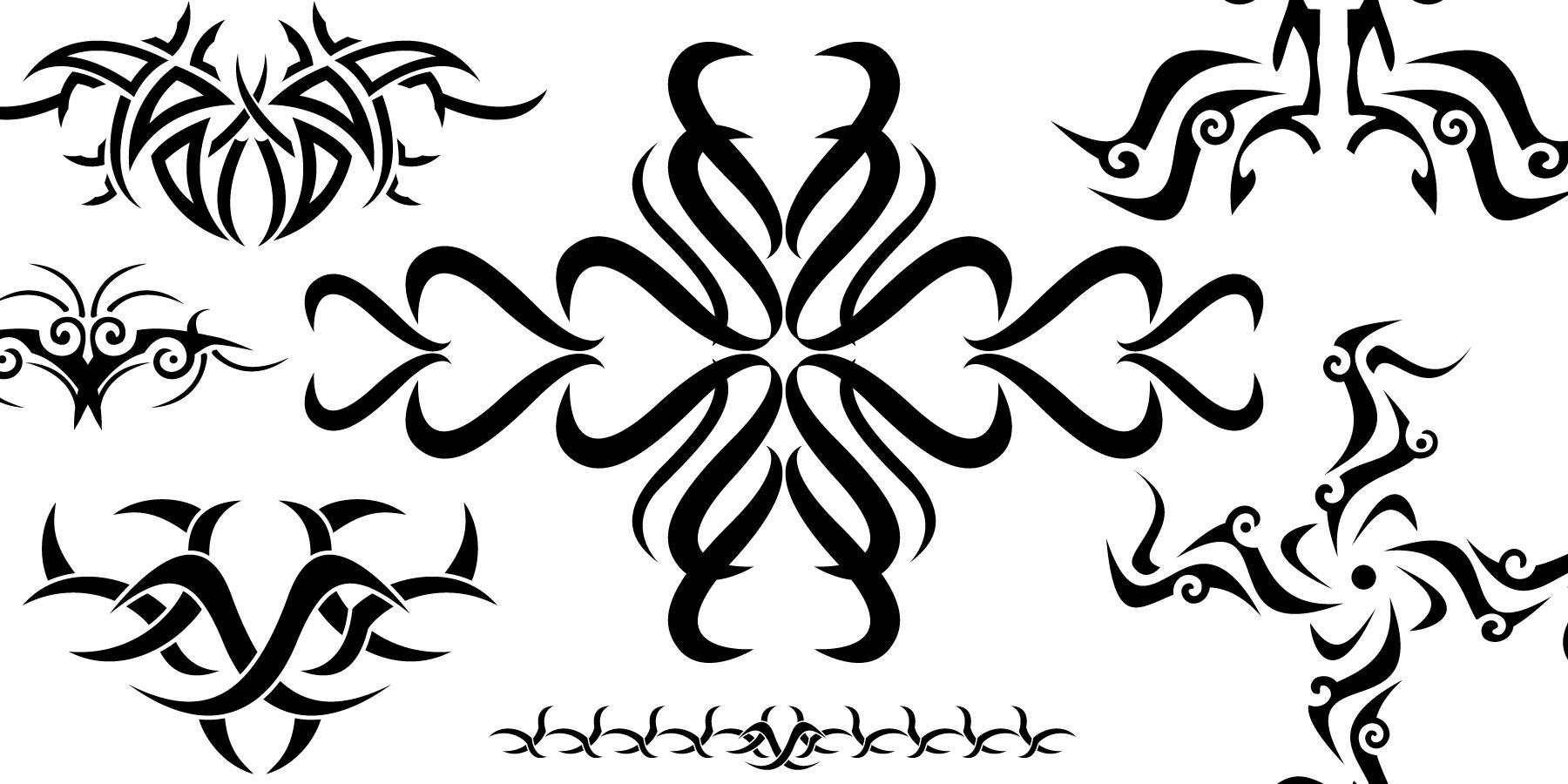 Free Tribal Tatto Art