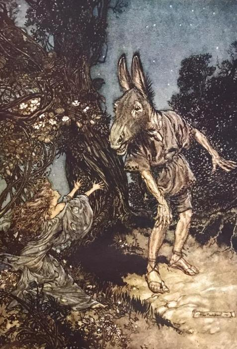 Arthur Rackham, illustration to A Midsummer Night's Dream