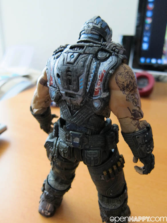 Gears Of War 3 NECA Clayton Carmine