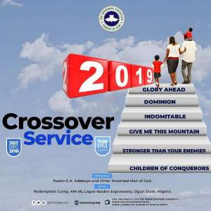 RCCG CROSSOVER SERVICE 2018