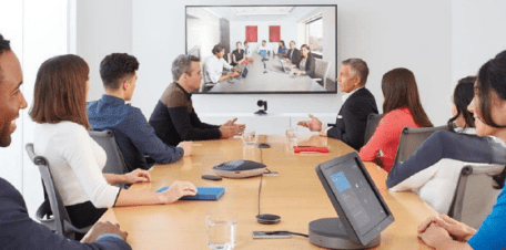 Visioconférence avec Skype for business en entreprise