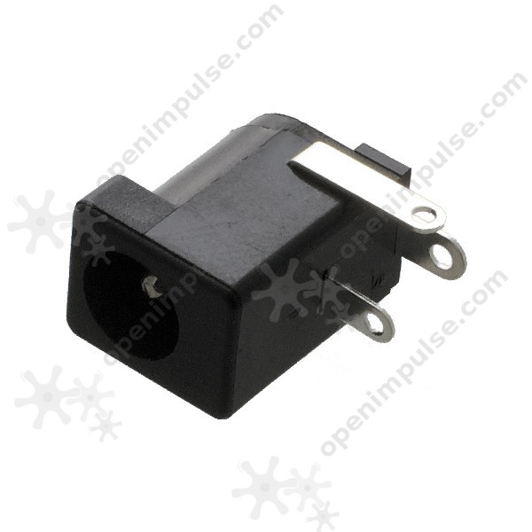 50pcs Mini DC Power Jack 1 35 Mm 2 12 Mm Open