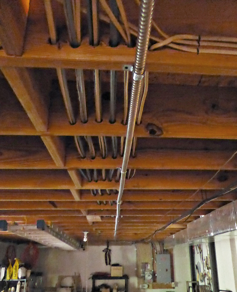 Wiring Running Boards On Basement In