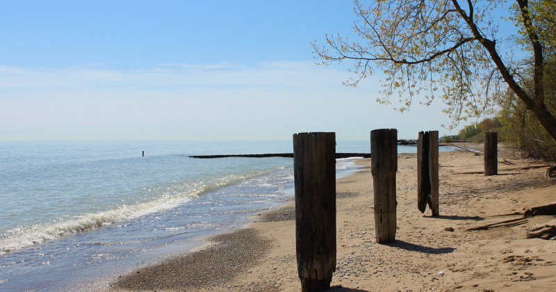 Lake Michigan Water Levels Impact Coastal Management at the
