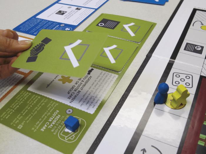 Game design - legal game - Toma El Paso - Make a Move 4
