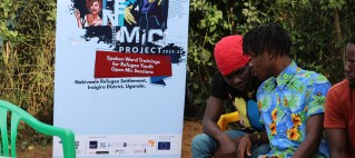The Open Mic Project,Empowering and Promoting Spoken Word & Youth Talent in Nakivale