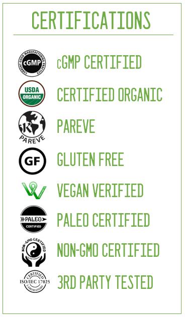 OMO certifications