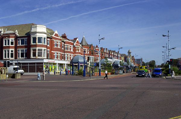 Lytham St Annes, south of Blackpool. (Credit: Simon Yarwood/Wikimedia Commons)