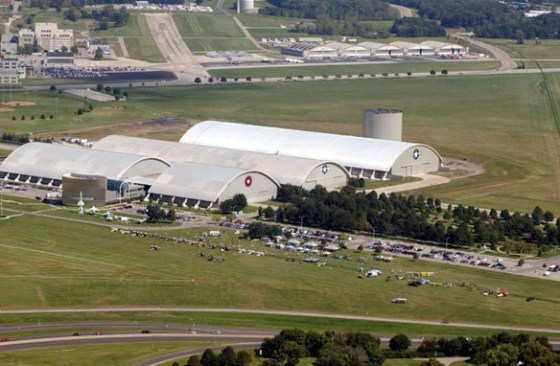 The Air Force Materiel Command is headquartered at Wright-Patterson Air Force Base. (Credit: Wikimedia Commons)