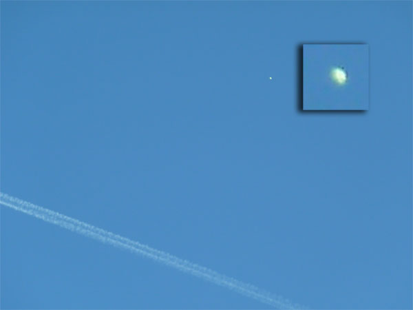 UFO over the Probe International Conference. (Probe International)
