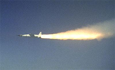 NASA's X-43A. (Credit: NASA)