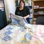 Susan and quilt-2012