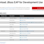 최신 JBoss 다운로드 받기