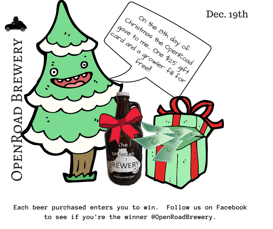 12 days openroad brewery