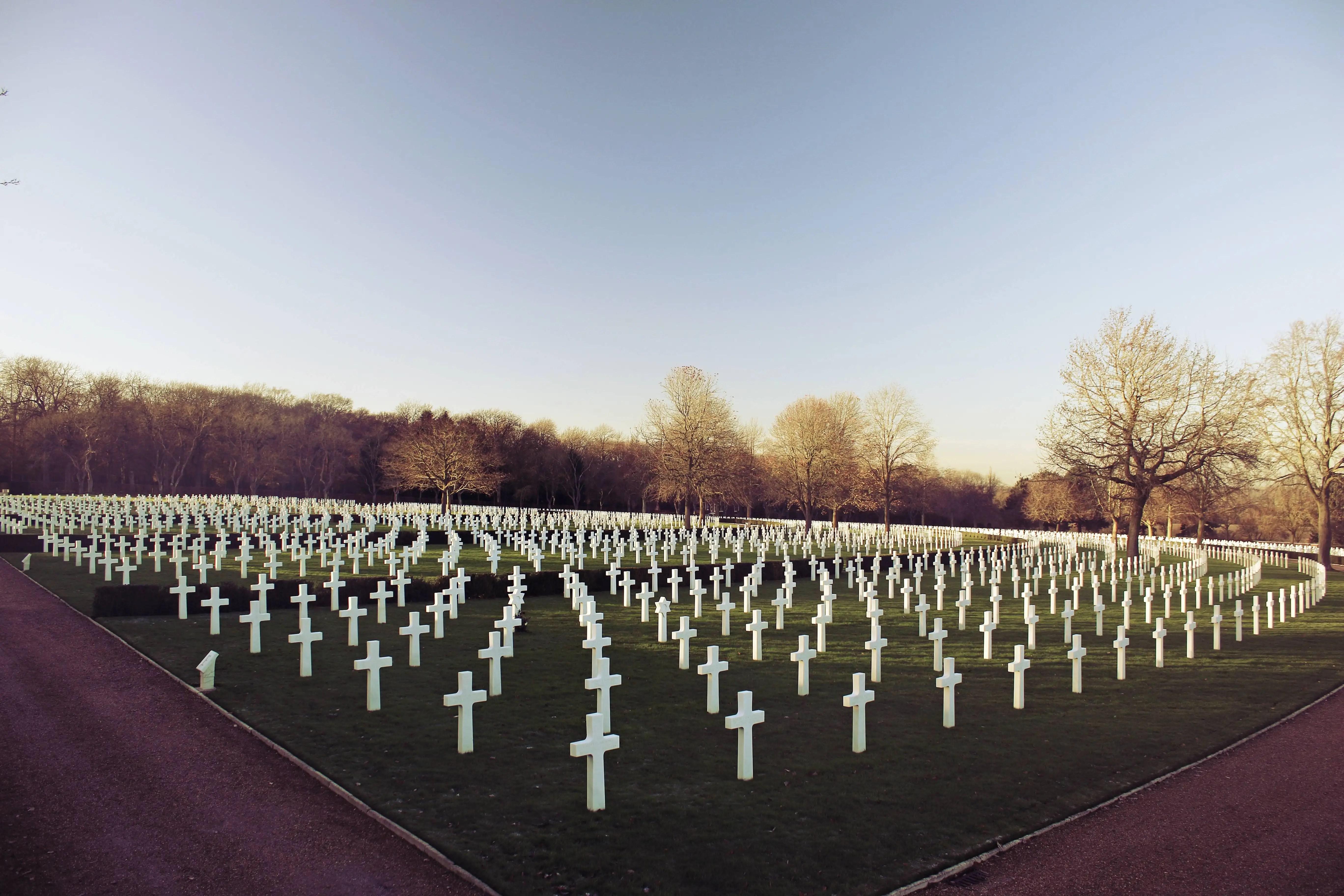 The cemetery app